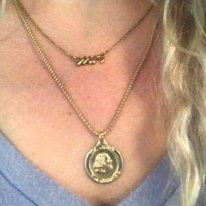 "Kate Spade ""Mrs"" necklace"